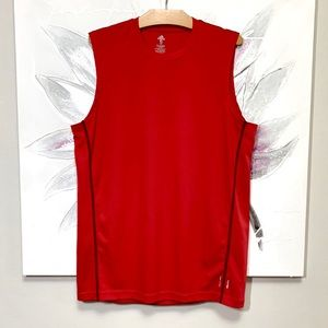 ADIDAS Climalite Flex 360 Tank Top Red Size S